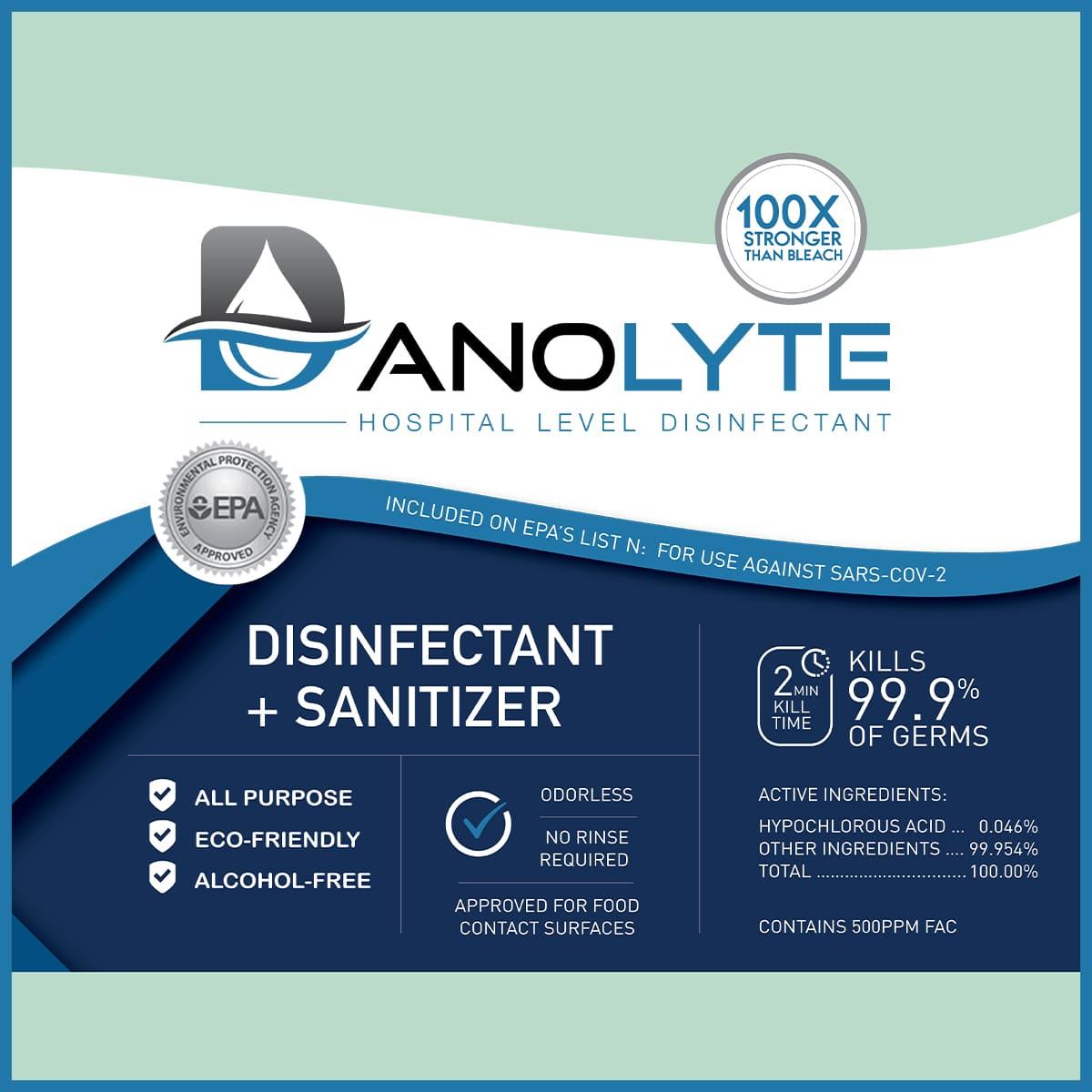 Danolyte Label