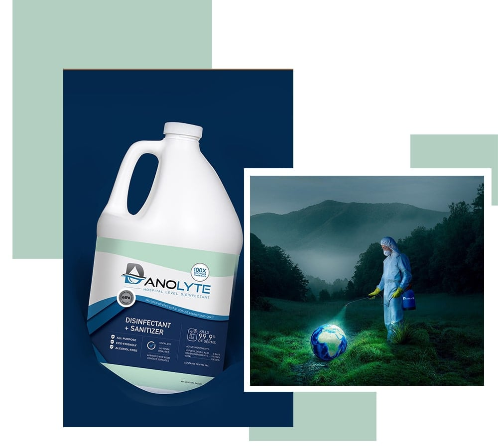 Danolyte Disinfectant 1 Gallon